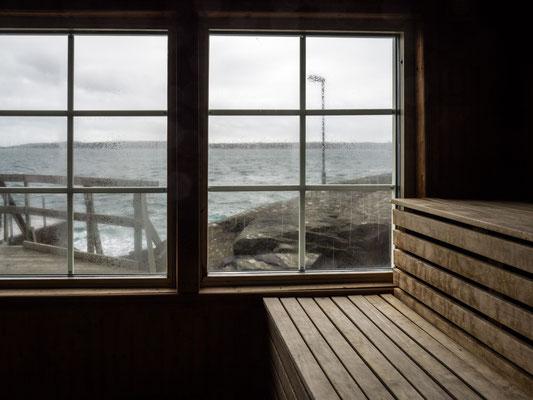 Bild: Blick aus dem Fenster