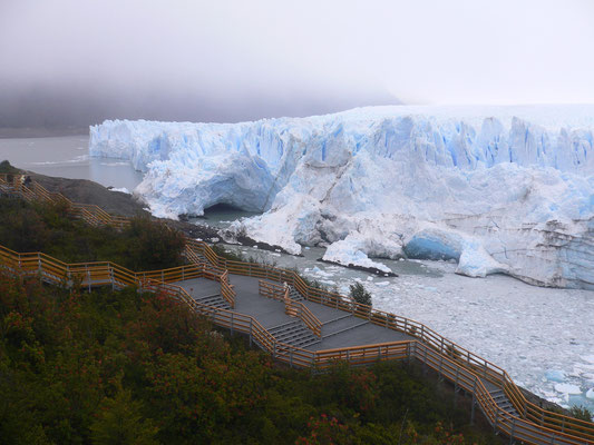 Bild: Der Gletscher
