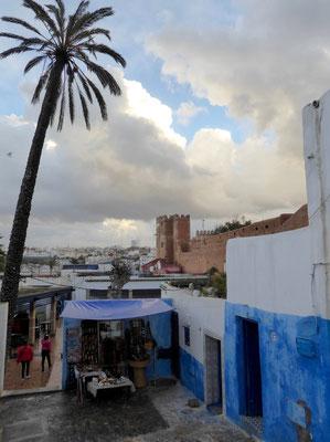 Bild: In der Altstadt von Rabat