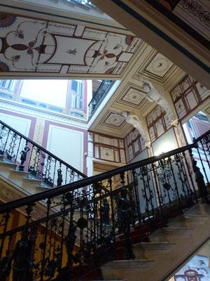 Bild: Treppenaufgang