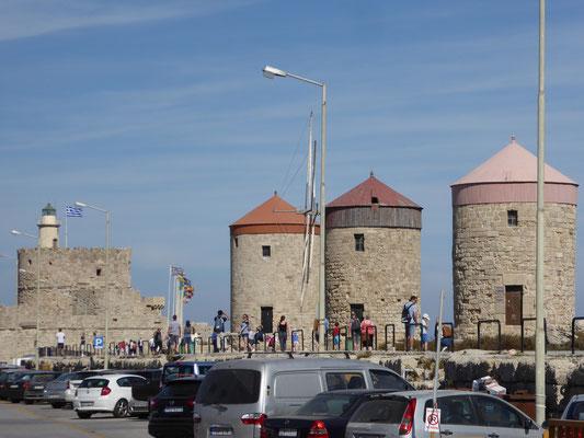 Die Mühlen und das Fort