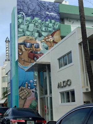 Bild: Graffiti an einer Hauswand