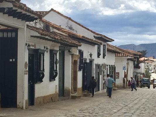 Bild: Straße in Villa de Leyva