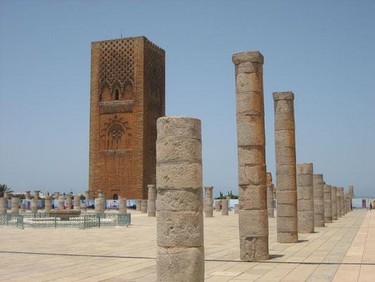 Bild: Hassan Turm in Rabat