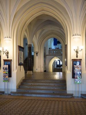 Bild: Eingang der Universität von Krakau