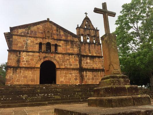 Bild: Kirche von Barichara