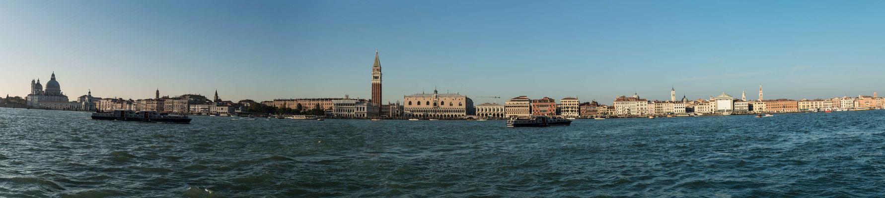 Bild: Blick auf Venedig
