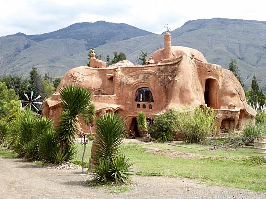 Bild: Terracotta Haus in Villa de Leyva