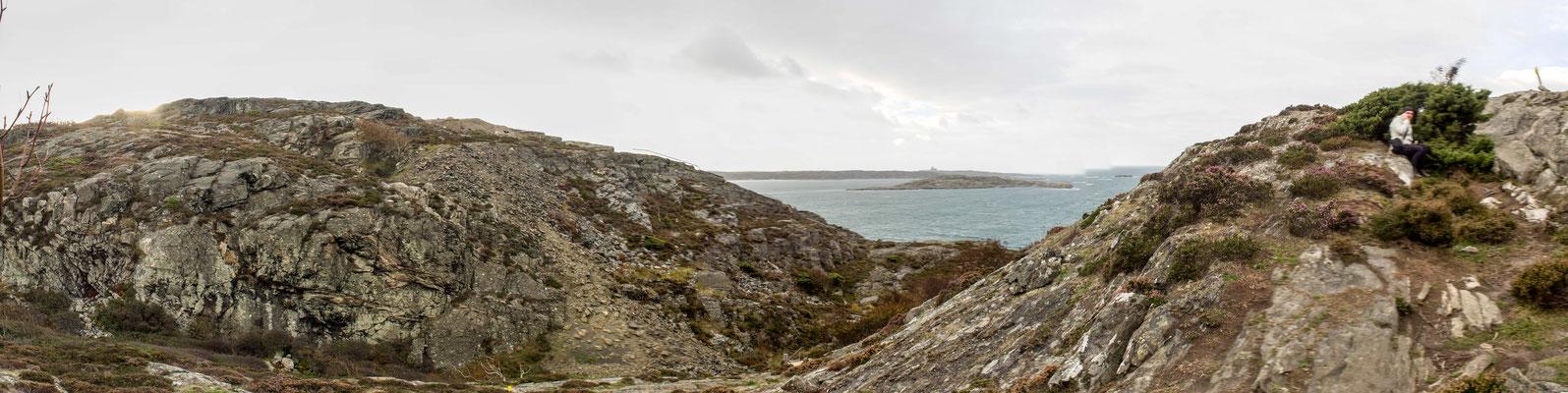 Bild: Blick über die Insel