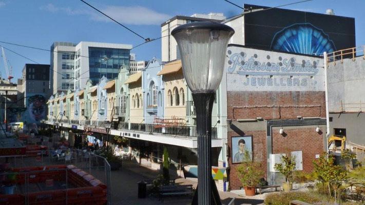 Bild: Die Innenstadt von Christchurch