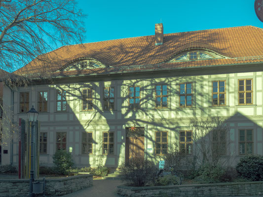 Bild: Harzmuseum in Wernigerode - Außenansicht