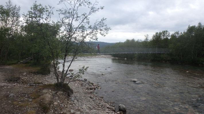 Bild: Stabbursdalen Fluss