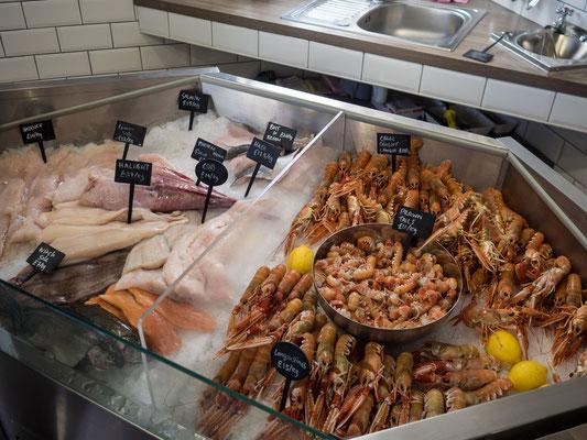 Bild: Fischgeschäft in Portree