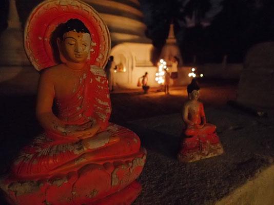 Bild: Sitzender Buddha