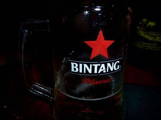 Bild: Das bekannte Balinesische Bier - Bittgang