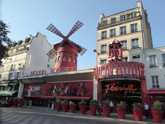 Bild: Moulin Rouge im Boulevard Clichy