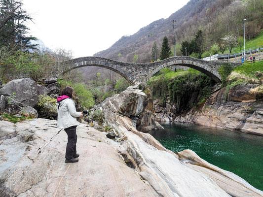 Bild: Judith an der Ponte dei Salti