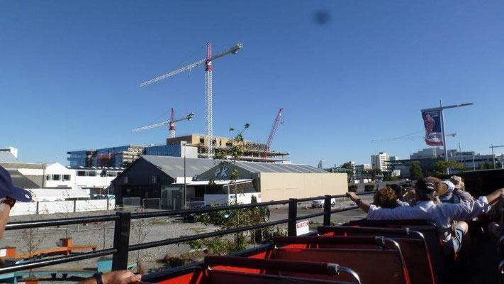 Bild: Der Hafen von Christchurch in Neuseeland