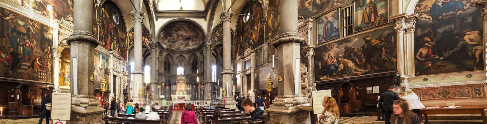 Bild: Die Kirche San Zaccaria von Innen