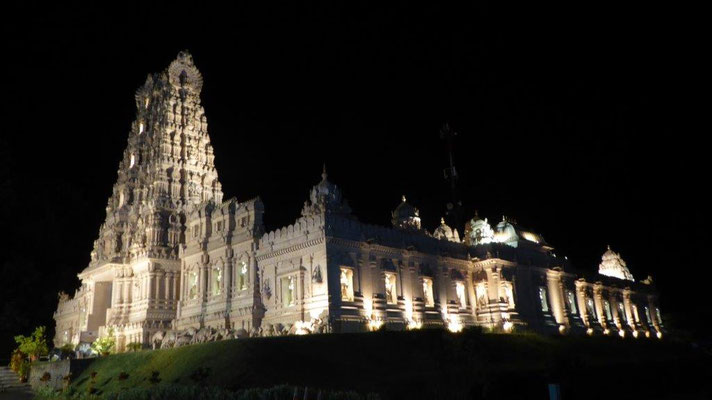 Bild: Der berühmte Hindu-Tempel Malaysias