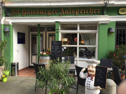 Bild: Alt Hamburger Aalspeicher in der Deichstraße in Hamburg
