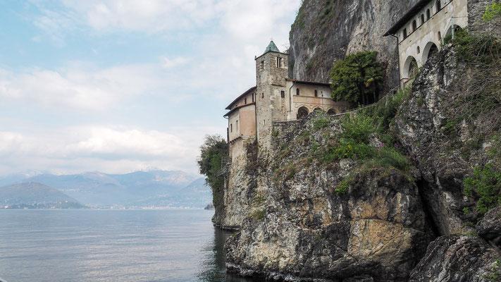 Bild: Kloster Santa Caterina del Sasso