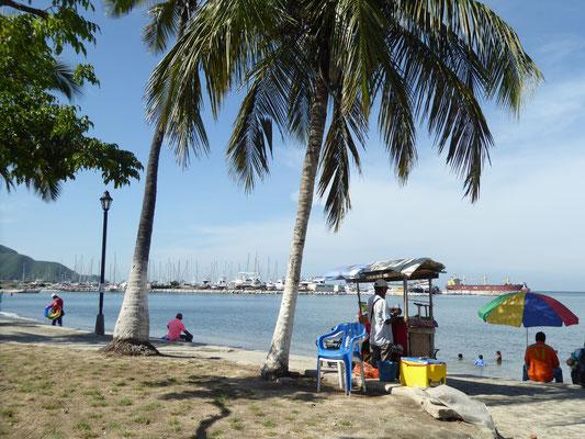 Bild: Am Strand von Santa Marta