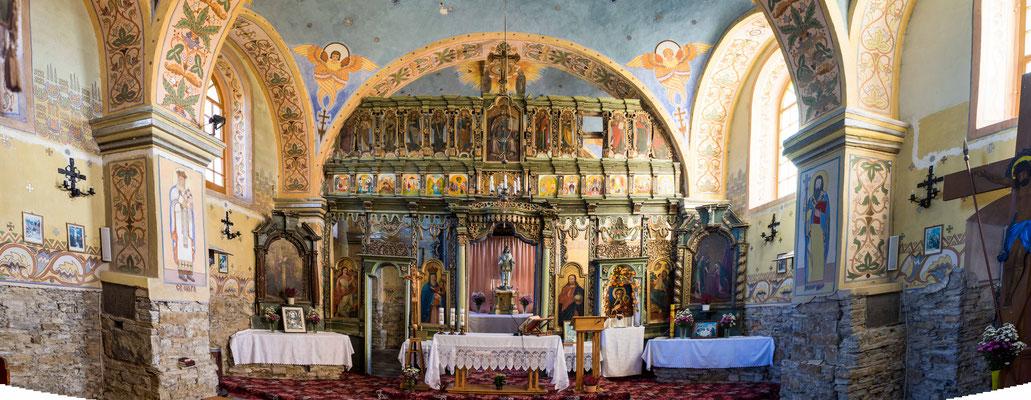 Bild: Kirche Smolnik Heiliger St. Nikolaus  von innen - Foto 1