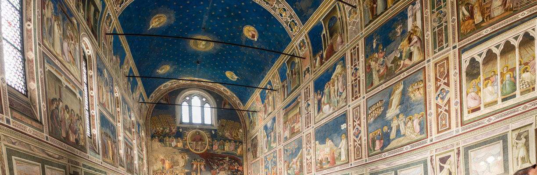 Bild: Innenansicht der Kirche in Padua