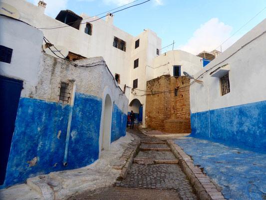 Bild: In der Kasbah von Rabat
