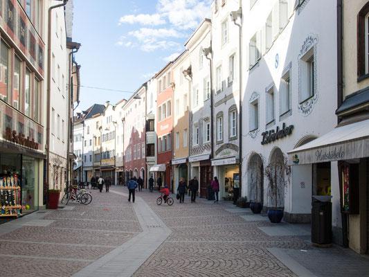 Bild: Die Stadtgasse in Bruneck