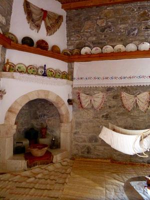 Bild: Kaminzimmer im Museum