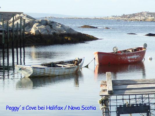 Bild: Das Fischerdorf Peggy´s Cove in Nova Scotia / Kanada