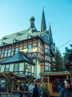 Bild: Historisches Rathaus in Wernigerode - Foto 1