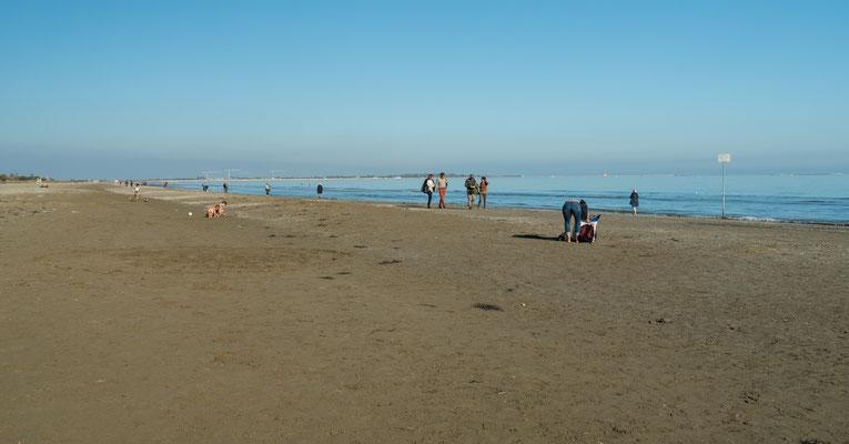 Bild: Der Strand von Lido di Venezia
