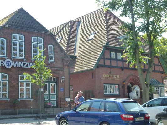Bild: Alte Häuser in Burg