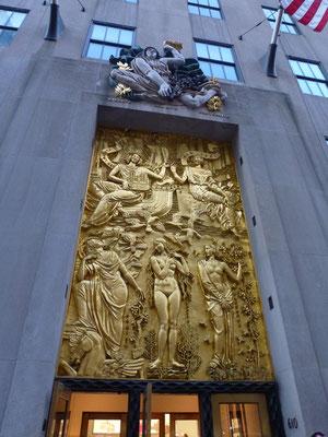 Bild: Eingang zum Rockefeller Center