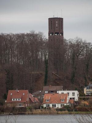 Bild: Der Wasserturm am Domsee