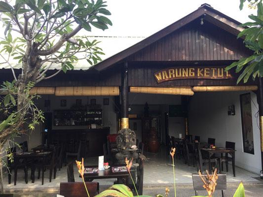 Bild: Gemütliches balinesisches Restaurant