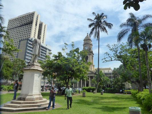 Bild: Blick auf die Post von Durban