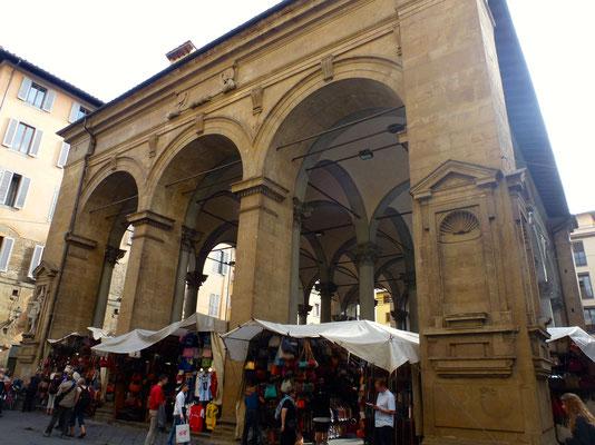 Bild: Loggia d. Mercato Nuevo