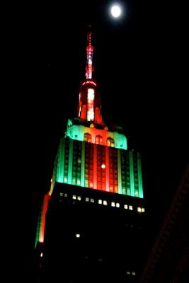Bild: Empire State Building - Foto 5 bei Nacht