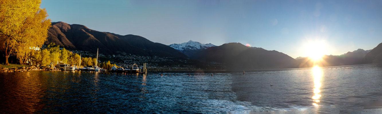 Bild: Blick auf den Lago Maggiore