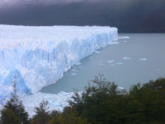Bild: Gletscher beim Kalben
