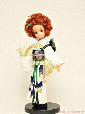 リカちゃん 着物,初代リカ 振袖,Licca kimono