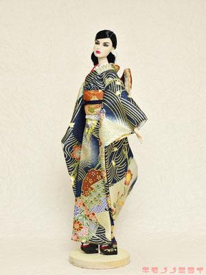 Fashion Royalty 着物,FR 振袖,Fashion Royalty kimono
