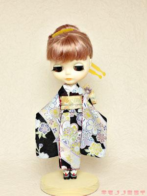 Blythe kimono,ブライス 着物,ネオブライス 振袖