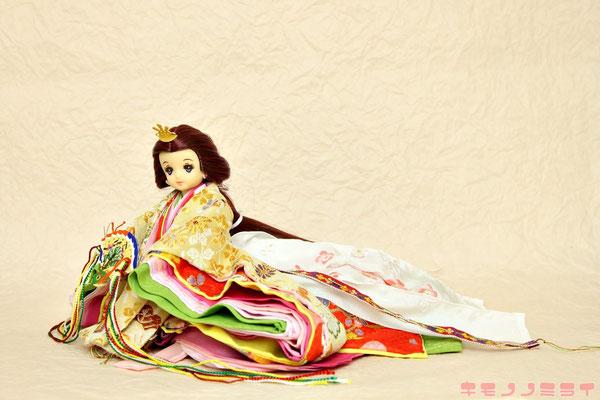 リカちゃん お雛様,人形 十二単,着せ替え おひなさま