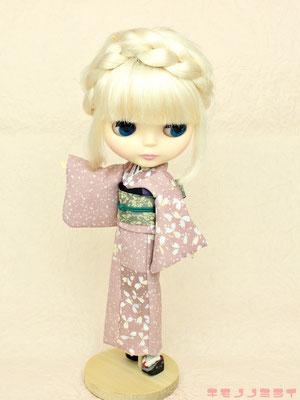 Blythe kimono,ブライス 着物,ネオ 和服