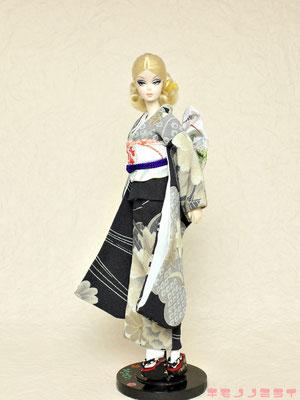バービー 着物,Barbie kimono,ドール 和